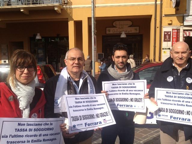 FEDERALBERGHI FERRARA ALLA MANIFESTAZIONE REGIONALE CONTRO LA TASSA ...